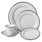 Noritake® Regina 5-Piece Place Setting in Platinum