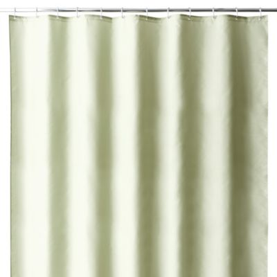 Hotel 70-Inch x 72-Inch Fabric Shower Curtain Liner in Moss