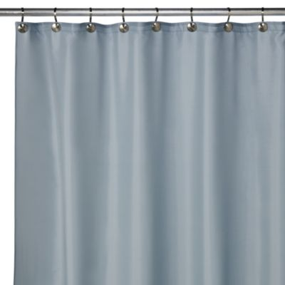 Hotel Fabric 70-Inch x 72-Inch Shower Curtain Liner in Powder Blue