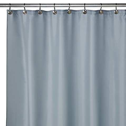 Buy Hotel Fabric 70 Inch X 72 Inch Shower Curtain Liner In Powder Blue From Bed Bath Beyond