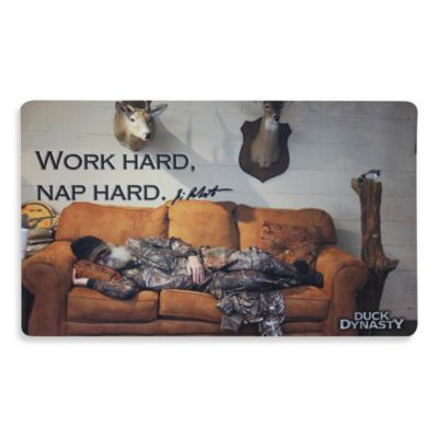 Duck Dynasty Sleeping Si Doormat