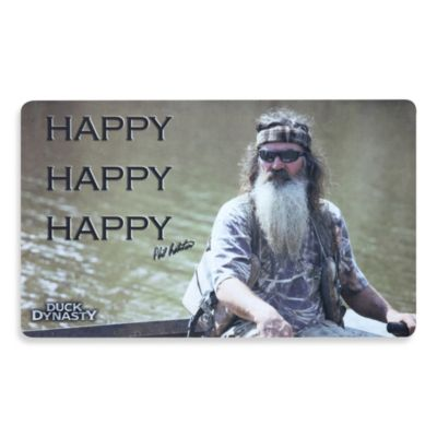 Duck Dynasty Happy Phil Doormat
