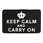 Kikkerland® Keep Calm & Carry On Doormat