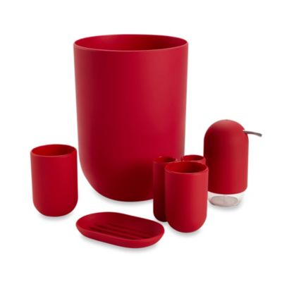 Umbra® Touch Bath Waste Basket in Raspberry