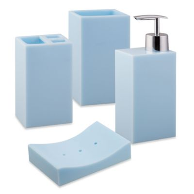 Jovi Home Paragon Lotion Dispenser in Blue