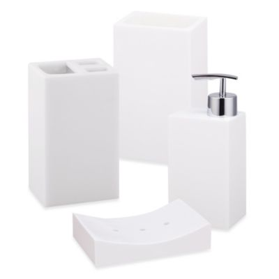 Jovi Home Paragon Lotion Dispenser in White