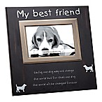 Best Friend 4-Inch x 6-Inch Rescue Dog Pet Photo Frame