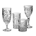 Godinger Dublin Crystal Shannon South Beach Palm Stemware and Barware