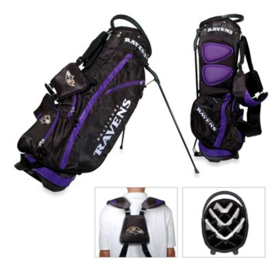 NFL Baltimore Ravens Fairway Stand Bag