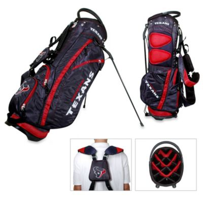 NFL Houston Texans Fairway Stand Golf Bag