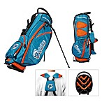 Miami Dolphins Fairway Stand Golf Bag