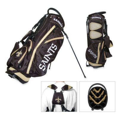 NFL New Orleans Saints Fairway Stand Golf Bag