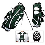NFL New York Jets Fairway Stand Golf Bag