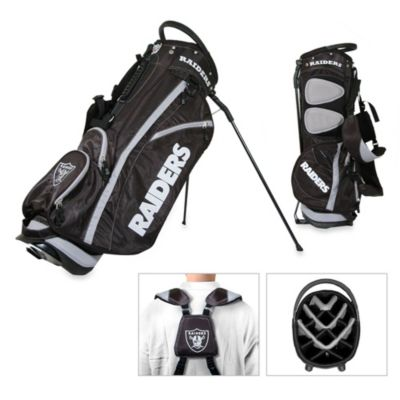 NFL Oakland Raiders Fairway Stand Golf Bag