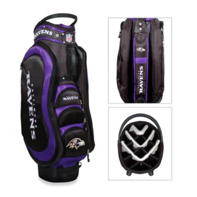 Baltimore Ravens Medalist Golf Cart Bag
