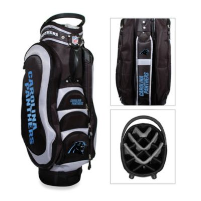 NFL Carolina Panthers Medalist Golf Cart Bag