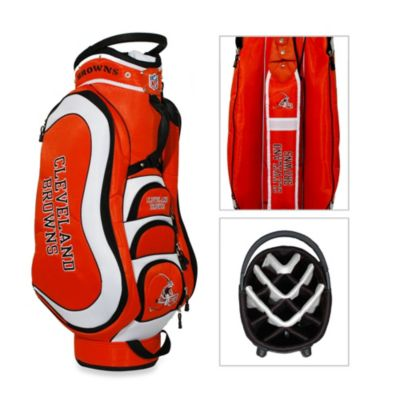 NFL Cleveland Browns Medalist Golf Cart Bag