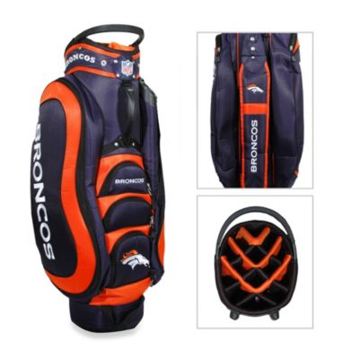 NFL Denver Broncos Medalist Golf Cart Bag