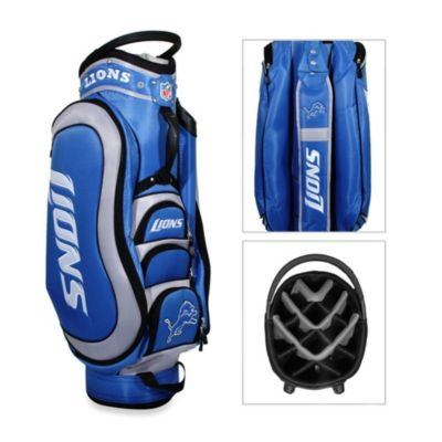 NFL Detroit Lions Medalist Golf Cart Bag