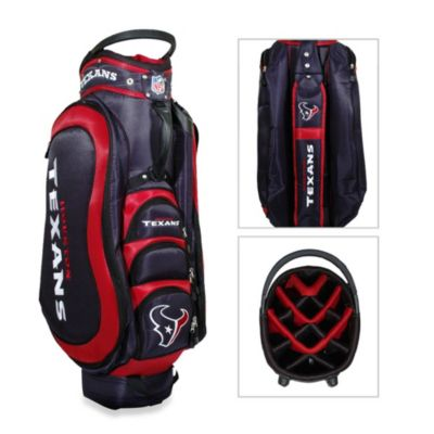 NFL Houston Texans Medalist Golf Cart Bag