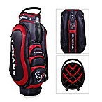 Houston Texans Medalist Golf Cart Bag