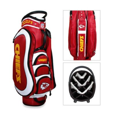 Kansas City Chiefs Medalist Golf Cart Bag