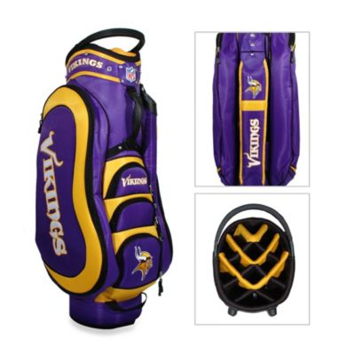 NFL Minnesota Vikings Medalist Golf Cart Bag