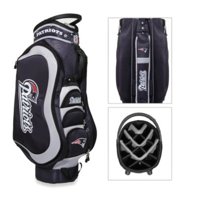 NFL New England Patriots Medalist Golf Cart Bag