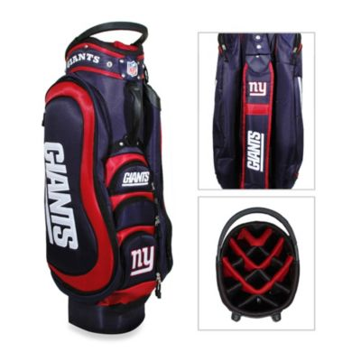 NFL New York Giants Medalist Golf Cart Bag