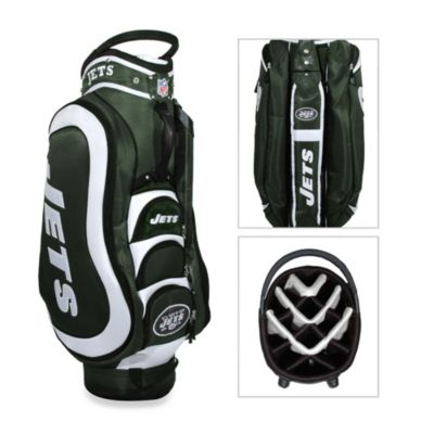 NFL New York Jets Medalist Golf Cart Bag