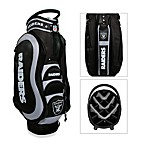 Oakland Raiders Medalist Golf Cart Bag
