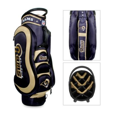 NFL St. Louis Rams Medalist Golf Cart Bag