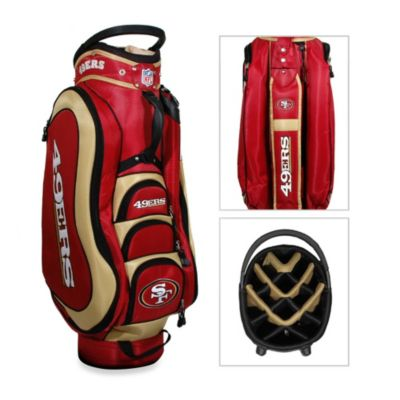 NFL San Francisco 49ers Medalist Golf Cart Bag