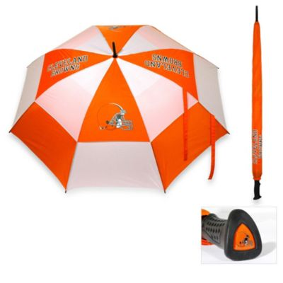 Brown Orange Golf Umbrella