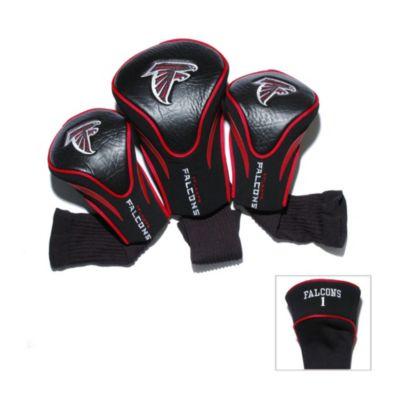 NFL Atlanta Falcons 3-Pack Contour Golf Club Headcovers