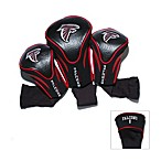 Atlanta Falcons 3-Pack Contour Golf Club Headcover