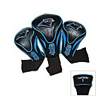 Carolina Panthers 3-Pack Contour Golf Club Headcovers