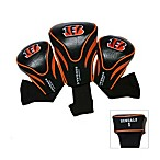 Cincinnati Bengals 3-Pack Contour Golf Club Headcovers