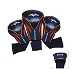 Denver Broncos 3-Pack Contour Golf Club Headcovers