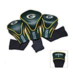 Green Bay Packers 3-Pack Contour Golf Club Headcovers