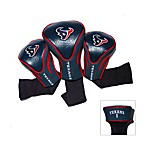 Houston Texans 3-Pack Contour Golf Club Headcovers