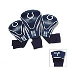 Indianapolis Colts 3-Pack Contour Golf Club Headcovers