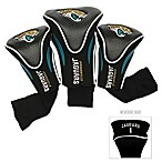 Jacksonville Jaguars 3-Pack Contour Golf Club Headcovers
