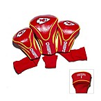 Kansas City Chiefs 3-Pack Contour Golf Club Headcovers