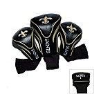 NFL New Orleans Saints 3-Pack Contour Golf Club Headcovers