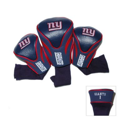 NFL New York Giants 3-Pack Contour Golf Club Headcovers