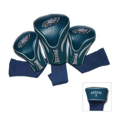 NFL Philadelphia Eagles 3-Pack Contour Golf Club Headcovers