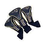 NFL St Louis Rams 3-Pack Contour Headcover