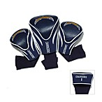NFL San Diego Chargers 3-Pack Contour Golf Club Headcovers