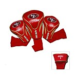 San Francisco 49ers 3-Pack Contour Golf Club Headcovers